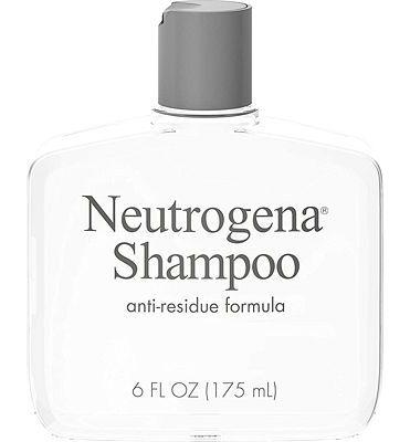 Purchase Neutrogena Anti-Residue Clarifying Shampoo, Gentle Non-Irritating Clarifying Shampoo to Remove Hair Build-Up & Residue, 6 fl. oz at Amazon.com