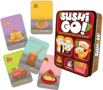 Purchase Sushi Go! - The Pick and Pass Card Game at Amazon.com