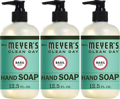 Purchase Mrs. Meyer's Clean Day Hand Soap, Basil, 12.5 fl oz, 3 ct at Amazon.com
