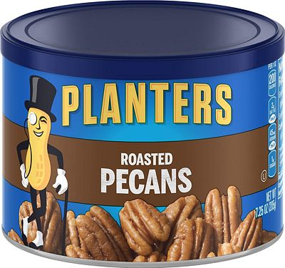 Purchase Planters Roasted & Salted Pecans (7.25oz Canister) at Amazon.com