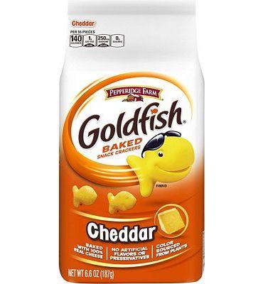Purchase Pepperidge Farm, Goldfish, Crackers, Cheddar, 6.6 oz., Bag, 6-count at Amazon.com