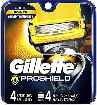 Purchase Gillette Fusion5 ProShield Men's Razor Blades, 4 Count at Amazon.com