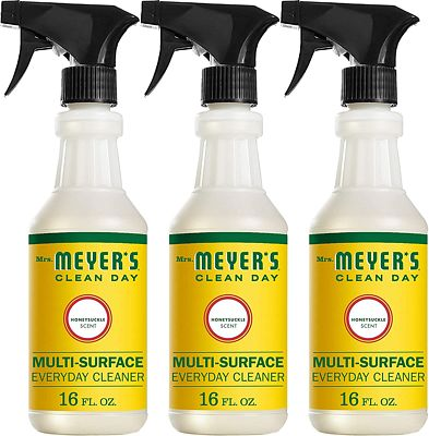 Purchase Mrs. Meyer's Clean Day Multi-Surface Everyday Cleaner, Honeysuckle, 16 fl oz, 3 ct at Amazon.com