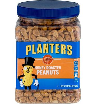 Purchase Planters Honey Roasted Peanuts (34.5oz, Pack of 2) at Amazon.com