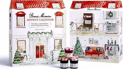 Purchase Bonne Maman 2020 LIMITED EDITION Advent Calendar, with 24 mini fruit spreads and honey at Amazon.com
