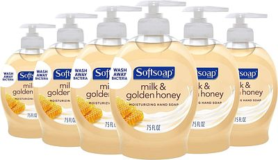 Purchase Softsoap Liquid Hand Soap, Milk and Honey - 7.5 fluid ounce (Pack of 6) at Amazon.com
