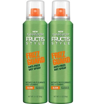 Purchase Garnier Hair Care Fructis Style Frizz Guard Anti-Frizz Dry Spray, 2 Count at Amazon.com