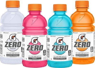 Purchase Gatorade Zero Sugar Thirst Quencher, 4 Flavor Variety Pack, 12 Fl Oz, Pack of 24 at Amazon.com