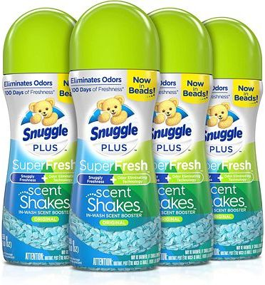Purchase Snuggle Scent Shakes in-Wash Scent Booster Beads, SuperFresh Original, 9 oz, Pack of 4 at Amazon.com