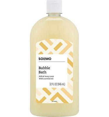 Purchase Amazon Brand - Solimo Milk and Honey Bubble Bath, 32 Fluid Ounce at Amazon.com