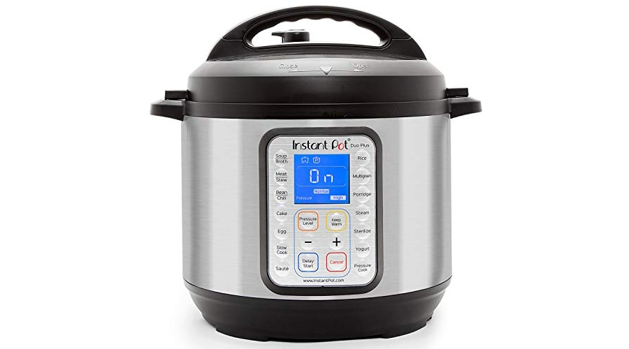 Purchase Instant Pot Duo Plus 9-in-1 Electric Pressure Cooker, Sterilizer, Slow Cooker, Rice Cooker, Steamer, saute, Yogurt Maker, and Warmer, 6 Quart, 15 One-Touch Programs at Amazon.com