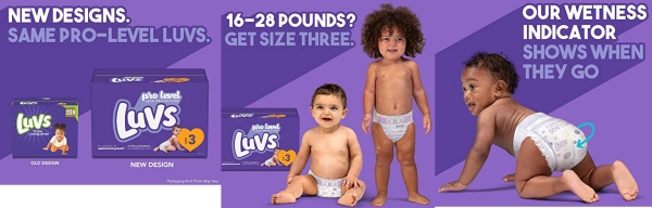 Purchase Diapers Size 3, 198 Count - Luvs Ultra Leakguards Disposable Baby Diapers, ONE MONTH SUPPLY on Amazon.com