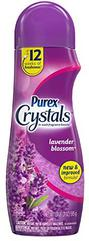 Purex Crystals in-Wash Fragrance and Scent Booster, Lavender Blossom, 21 Ounce