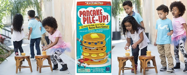 Purchase Educational Insights Pancake Pile-Up!, Sequence Relay Game for Preschoolers, Ages 4+ on Amazon.com