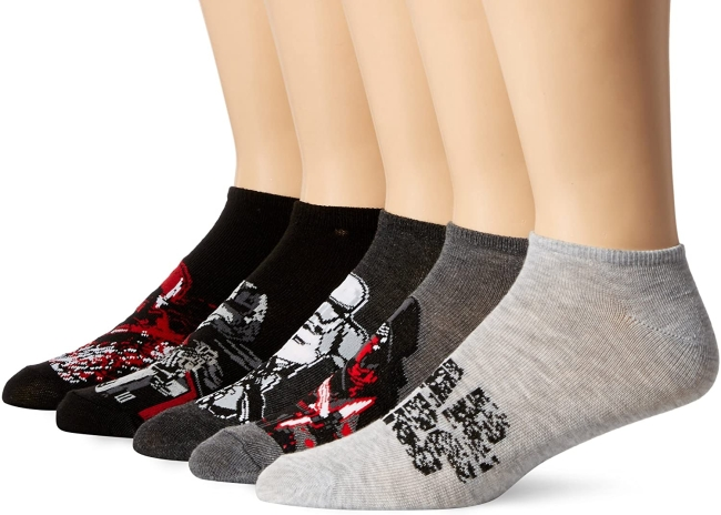 Purchase Star Wars Men's 5 Pack No Show Socks at Amazon.com
