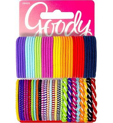 Purchase Goody Girls Ouchless Hair Elastics Perfect for Girls with Fine Hair, Curly Hair or Sensitive Scalps (60 Pieces) (Assorted in Brights and Pastels) at Amazon.com