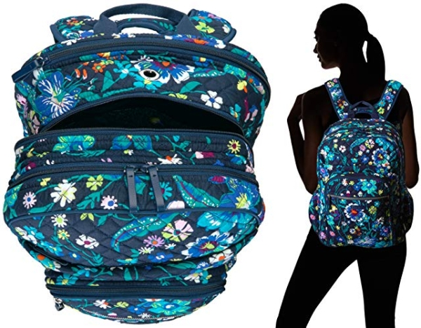 Purchase Vera Bradley Women's Signature Cotton XL Campus Backpack Bookbag on Amazon.com