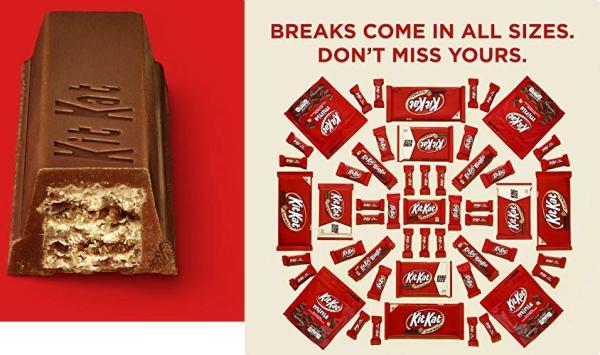 Purchase Kit Kat Candy, Milk Chocolate Bar, 1.5 Oz Bars (Pack of 36) on Amazon.com