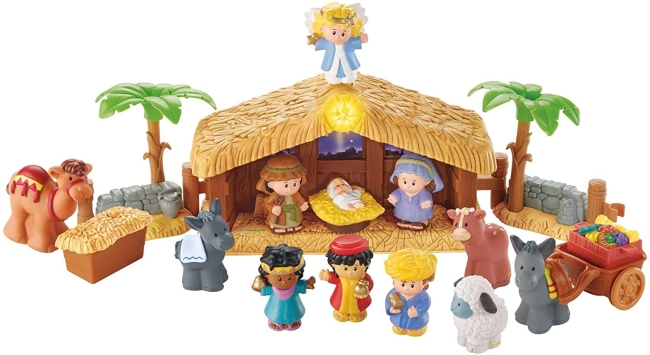 Purchase Fisher-Price Little People Christmas Story at Amazon.com