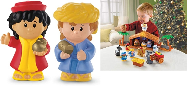 Purchase Fisher-Price Little People Christmas Story on Amazon.com