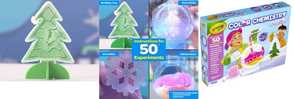 Purchase Crayola Arctic Color Chemistry Set, Steam/Stem Activities, Gift for Kids, Ages 7, 8, 9, 10 on Amazon.com
