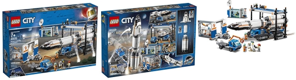 Purchase LEGO City Rocket Assembly & Transport 60229 Building Kit (1055 Pieces) on Amazon.com