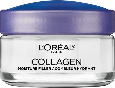 Purchase Collagen Face Moisturizer by L'Oreal Paris, Anti-Aging Day Cream and Night Cream to Smooth Wrinkles, Lightweight, Non-greasy Facial Cream, 1.7 oz. at Amazon.com