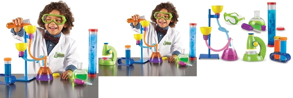 Purchase Learning Resources Primary Science Deluxe Lab Set, Science Kit, 45 Piece Set, Ages 3+ on Amazon.com