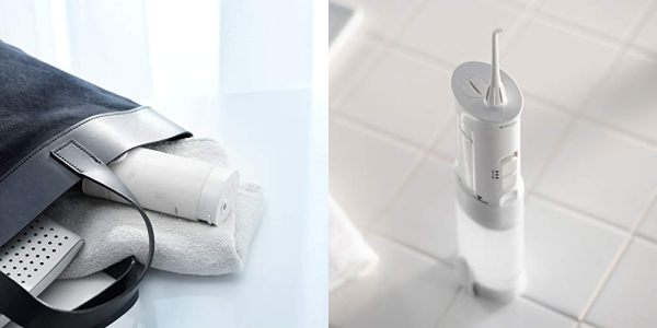 Purchase Panasonic DJ10-W Cordless Dental Water Flosser, Dual-speed Pulse oral irrigator on Amazon.com