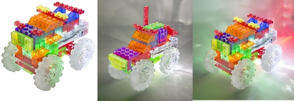 Purchase Laser Pegs 6-in-1 Monster Truck Building Set on Amazon.com