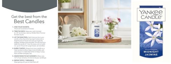 Purchase Yankee Candle Large Jar Candle Midnight Jasmine on Amazon.com
