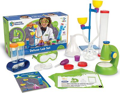 Purchase Learning Resources Primary Science Deluxe Lab Set, Science Kit, 45 Piece Set, Ages 3+ at Amazon.com