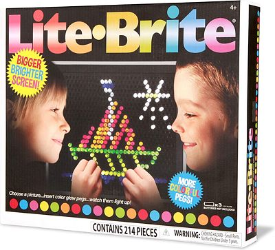 Purchase Basic Fun Lite-Brite Ultimate Classic Retro Toy, Gift for Girls and Boys, Ages 4+, Multicolor at Amazon.com