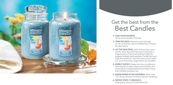 Purchase Yankee Candle Large Jar Candle Bahama Breeze on Amazon.com