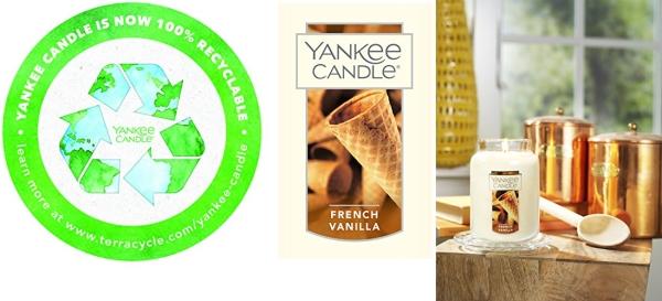 Purchase Yankee Candle Large Jar Candle French Vanilla on Amazon.com