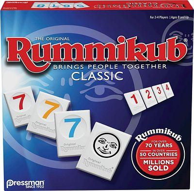 Purchase Rummikub by Pressman - Classic Edition - The Original Rummy Tile Game, Blue at Amazon.com