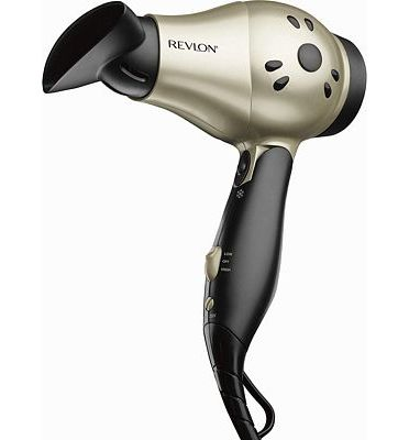 Purchase Revlon 1875W Compact+ Folding Handle Travel Hair Dryer at Amazon.com