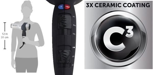 Purchase Revlon 1875W Volumizing Turbo Hair Dryer on Amazon.com