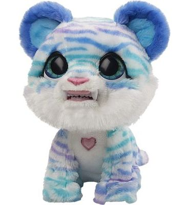 Purchase furReal North The Sabertooth Kitty Interactive Plush Pet Toy, 35+ Sound & Motion Combinations at Amazon.com