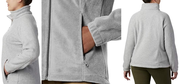 Purchase Columbia womens Benton Springs Full Zip Fleece Jacket, Cirrus Grey Heather, Large US on Amazon.com