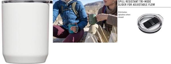 Purchase Horizon 12 oz Camp Mug - Insulated Stainless Steel - Tri-Mode Lid on Amazon.com