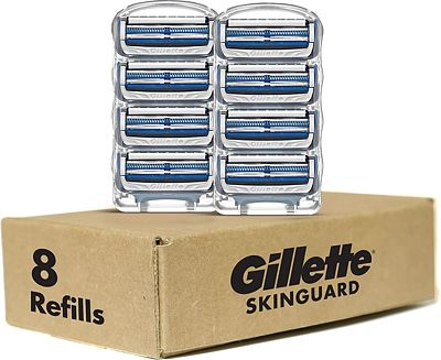 Purchase Gillette SkinGuard Men's Razor Blade Refills, 8 count at Amazon.com
