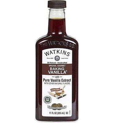 Purchase Watkins All Natural Original Gourmet Baking Vanilla, with Pure Vanilla Extract, 11 ounces Bottle at Amazon.com