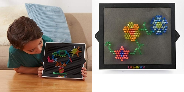 Purchase Basic Fun Lite-Brite Ultimate Classic Retro Toy, Gift for Girls and Boys, Ages 4+, Multicolor on Amazon.com