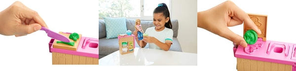 Purchase Barbie Noodle Bar Playset with Blonde Doll on Amazon.com