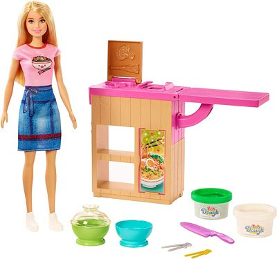 Purchase Barbie Noodle Bar Playset with Blonde Doll at Amazon.com