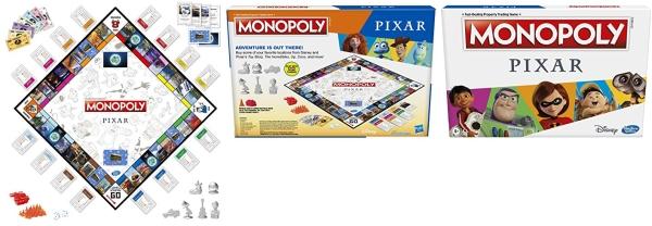 Purchase Monopoly: Pixar Edition Board Game on Amazon.com