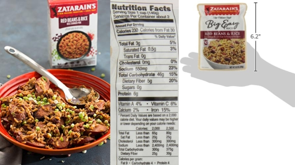 Purchase Zatarain's Red Beans and Rice, Original, 8oz on Amazon.com