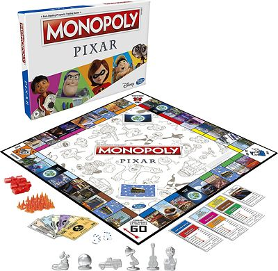 Purchase Monopoly: Pixar Edition Board Game at Amazon.com