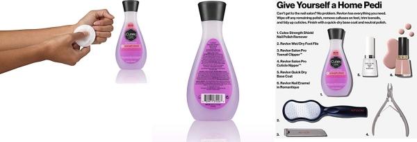 Purchase Cutex strength shield Nail Polish Remover 6.76 Fl Oz on Amazon.com